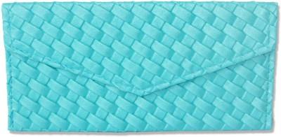 WeddingPitara Fancy Shagun Aqua Blue Leather Envelopes(Pack of 3 Blue)