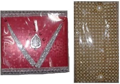 ezyemart Envelopes(Pack of 2 Red, Gold)