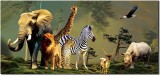 Ultra 3D Jungle Animals Envelopes Pack o...