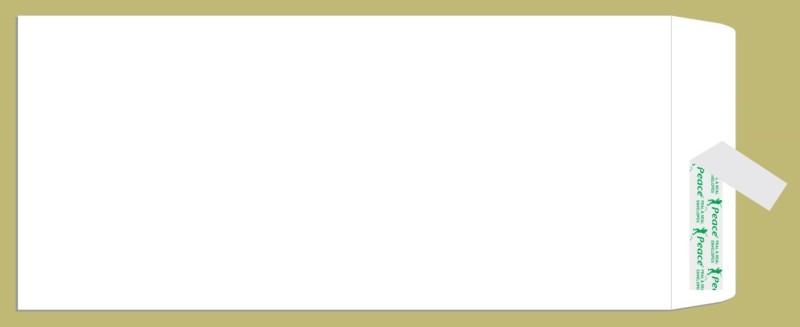 peace Envelopes(Pack of 25 White)