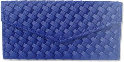 WeddingPitara Fancy Shagun Blue Leather Envelopes(Pack of 3 Blue)
