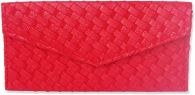 WeddingPitara Fancy Shagun Red Leather Envelopes(Pack of 3 Red)