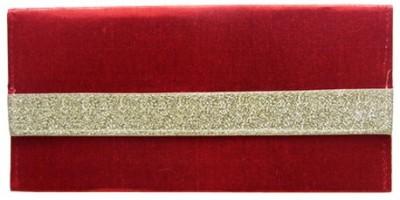 WeddingPitara Fancy Shagun Shimmer Red Envelopes(Pack of 3 Red)