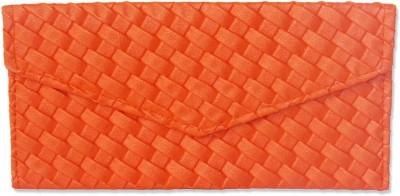 WeddingPitara Fancy Shagun Orange Leather Envelopes(Pack of 3 Orange)