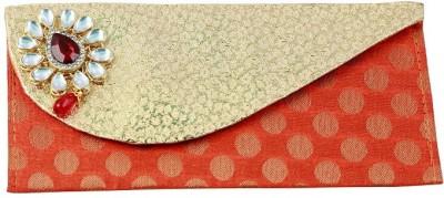 paras kraft Envelopes(Pack of 2 Orange, Silver)