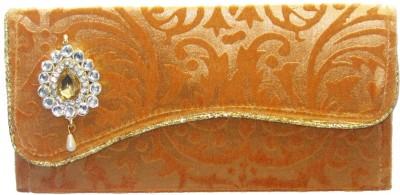 WeddingPitara Fancy Shagun Velvet Golden Envelopes(Pack of 3 Gold)