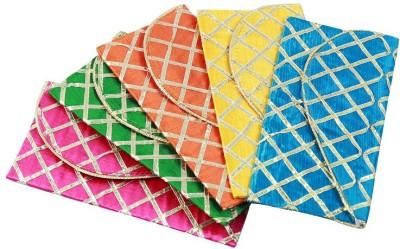 paras kraft Envelopes(Pack of 5 Multicolor)
