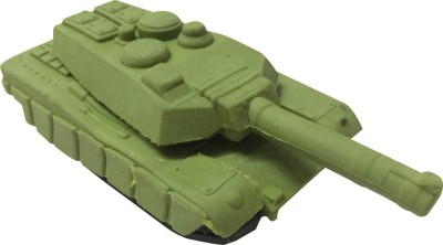 Priyankish Smart Kids Non-Toxic Tank Eraser Shaped Big Erasers