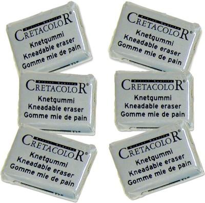 Cretacolor Small Erasers(Set of 6)