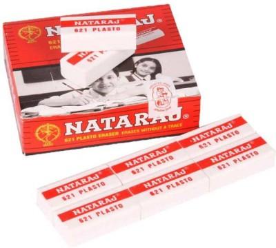 Natraj 621 Non-Toxic Rectangle Shaped Medium Erasers