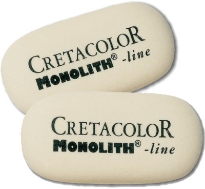 Cretacolor Monolith Oval Shaped Large Erasers