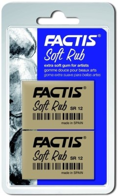Factis Soft Triangular Shaped Small Erasers(Set of 1)
