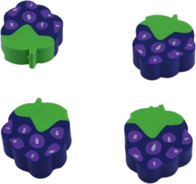 Saamarth Impex Super Clean Grapes Shape Shaped Small Eraser