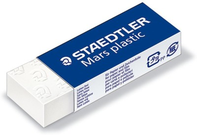 Staedtler Mars Plastic Non-Toxic Rectangle Shaped Medium Erasers