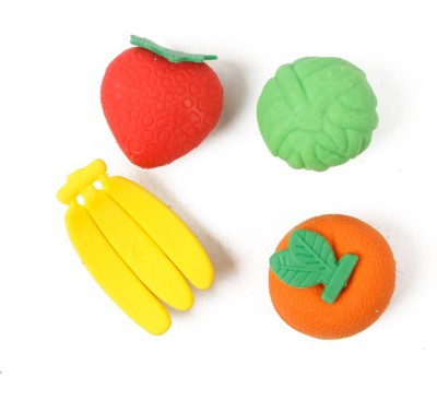 Asraw Fancy Non-Toxic Oval Shaped Small Erasers