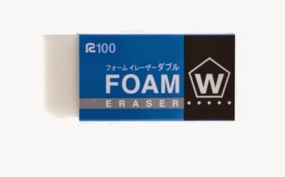 Sakura Foam Rectangle Shaped Large Erasers