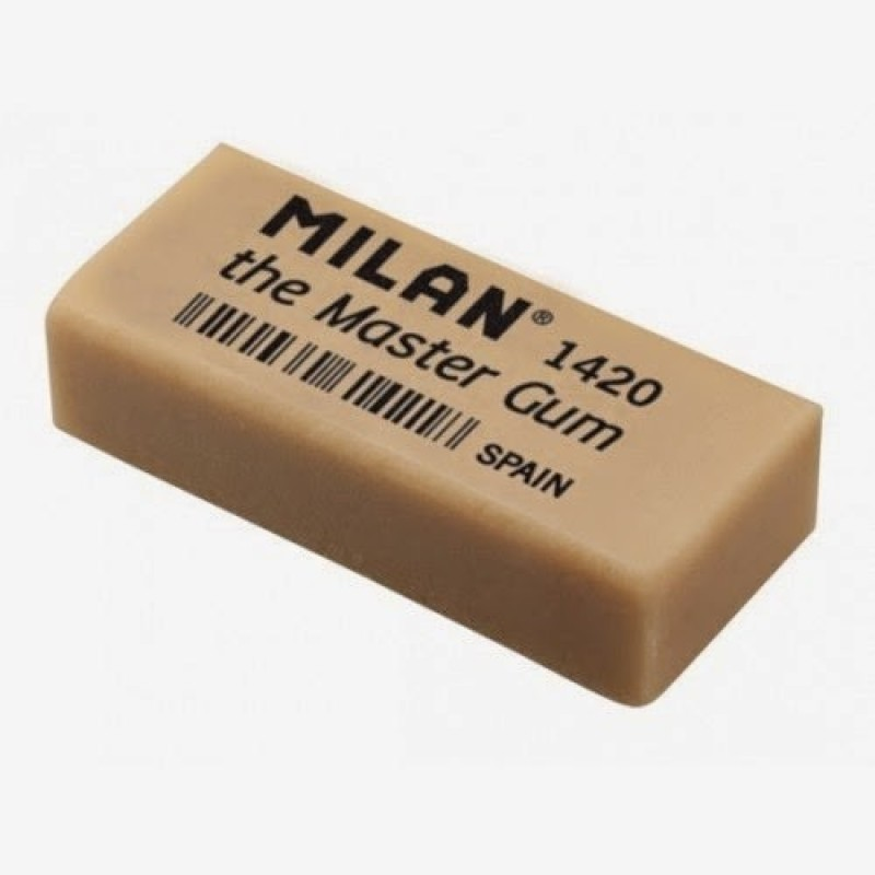 Milan Master Gum Rectangle Shaped Large Erasers(Set of 5)