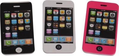 Priyankish Smart Kidz Non-Toxic i-Phone Erasers Shaped Medium Erasers