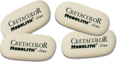 Cretacolor Monolith Oval Shaped Small Erasers
