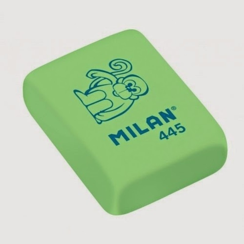 Milan Flexible Rectangle Shaped Small Erasers(Set of 45)