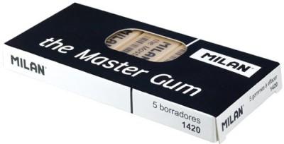 Milan CMM-1420 Square Shaped Large Erasers(Set of 5)
