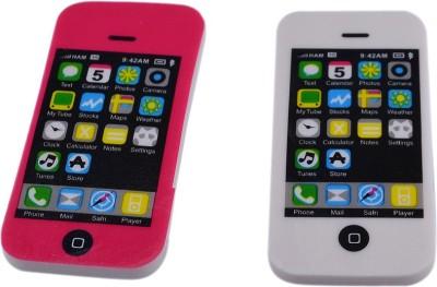 Saamarth Impex Super Clean Mobile Shape Shaped Big Eraser