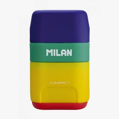 Milan Compact Mix Rectangle Shaped Medium Erasers(Set of 1)