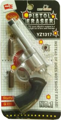 Dragon Super clean Non-Toxic Gun Shaped Large Erasers