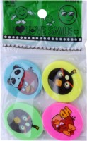 SN Toy Zone Angry Bird Non-Toxic Angry Bird Shaped Small Erasers