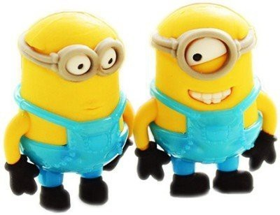 Stuff Jam Minions Non-Toxic Cartoon Figure Shaped Large Erasers