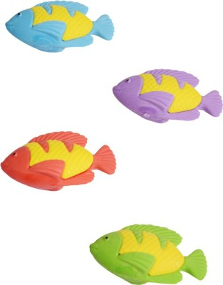 Priyankish Smart Kids Non-Toxic Oval Shaped Medium Erasers