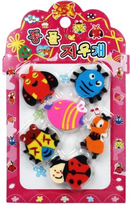 Ollington St. Collection insect Oval Shaped Small Erasers