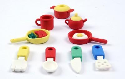 COI Kitchen Set Non-Toxic Mix Shaped Small Erasers