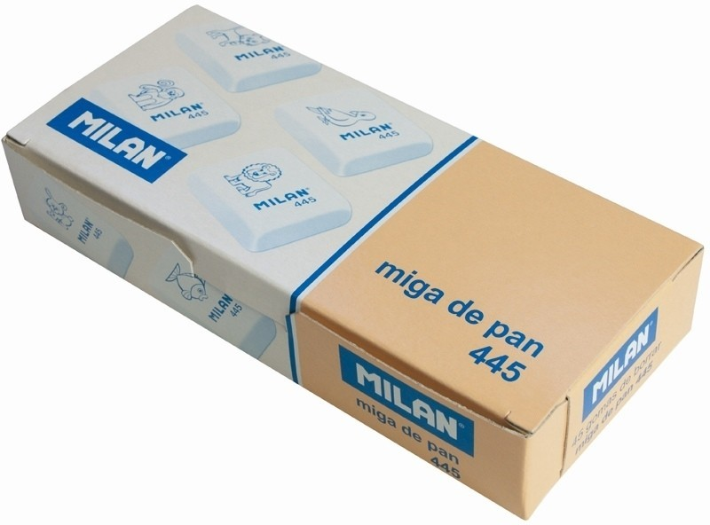 Milan CMM445 Square Shaped Small Erasers(Set of 45)
