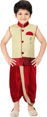 Kute Kids Boy's Dhoti & Kurta Set
