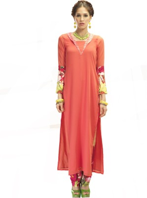 Admyrin Women's Kurta and Pyjama Set at flipkart
