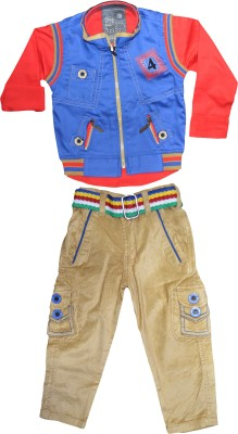 Smilee Baby Boy,s Shirt, Waistcoat and Pant Set