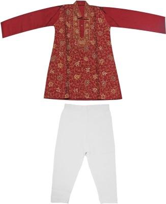 Babeezworld Boy's Kurta and Pyjama Set