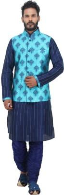 Shahjada Men's Kurta & Waistcoat Set