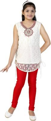 SKDC Girl's Kurti and Legging Set