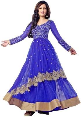 easenconfort Net Embroidered Salwar Suit Dupatta Material Un stitched  Material Un stitched  Material Unstitched  available at Flipkart for Rs.4650