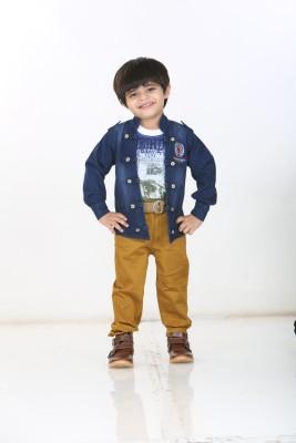 Kishore Dresses Baby Boy,s Shirt, Waistcoat and Pant Set