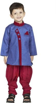 BownBee Boy's Sherwani and Churidar Set
