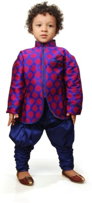 Viaan Retail Boy's Kurta and Breeches Set