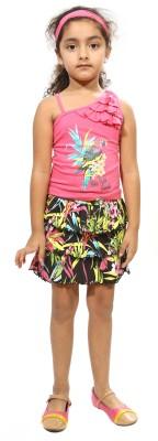 Bio Kid Baby Girl,s Top and Skirt Set