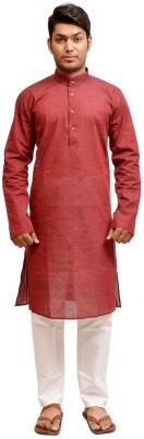 Porwal Men's Kurta and Pyjama Set