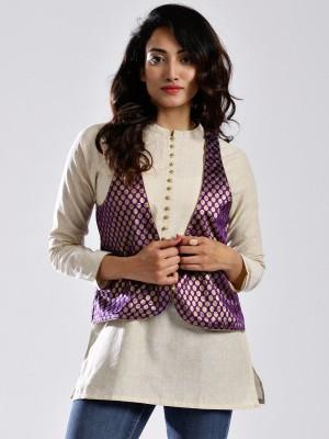 Anouk Women's Kurta & Waistcoat Set