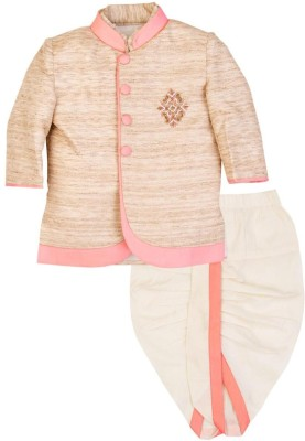 Mom & Me Boy's Kurta and Dhoti Pant Set