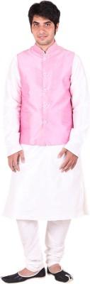 Hriday Men's Kurta, Waistcoat and Pyjama Set