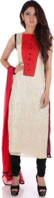 R Factor Women's Kurta and Dupatta Set